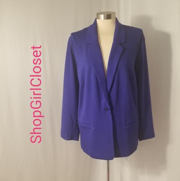 Kensie Jackets & Blazers - Kensie Deconstructed Blazer..Size 3X